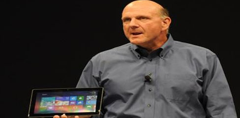 Microsoft demos Windows 8 Metro UI for tablets